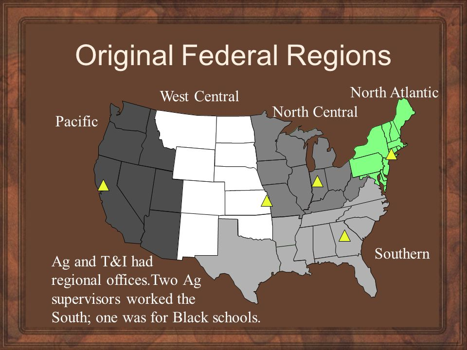 Original Federal Regions