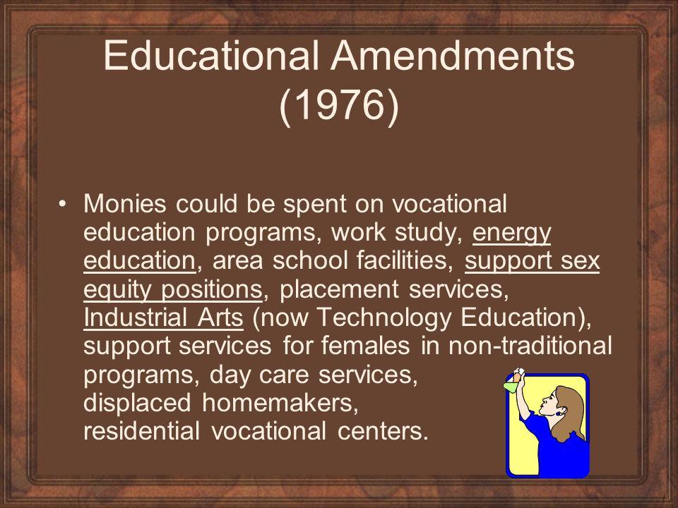 Educational Amendments (1976)