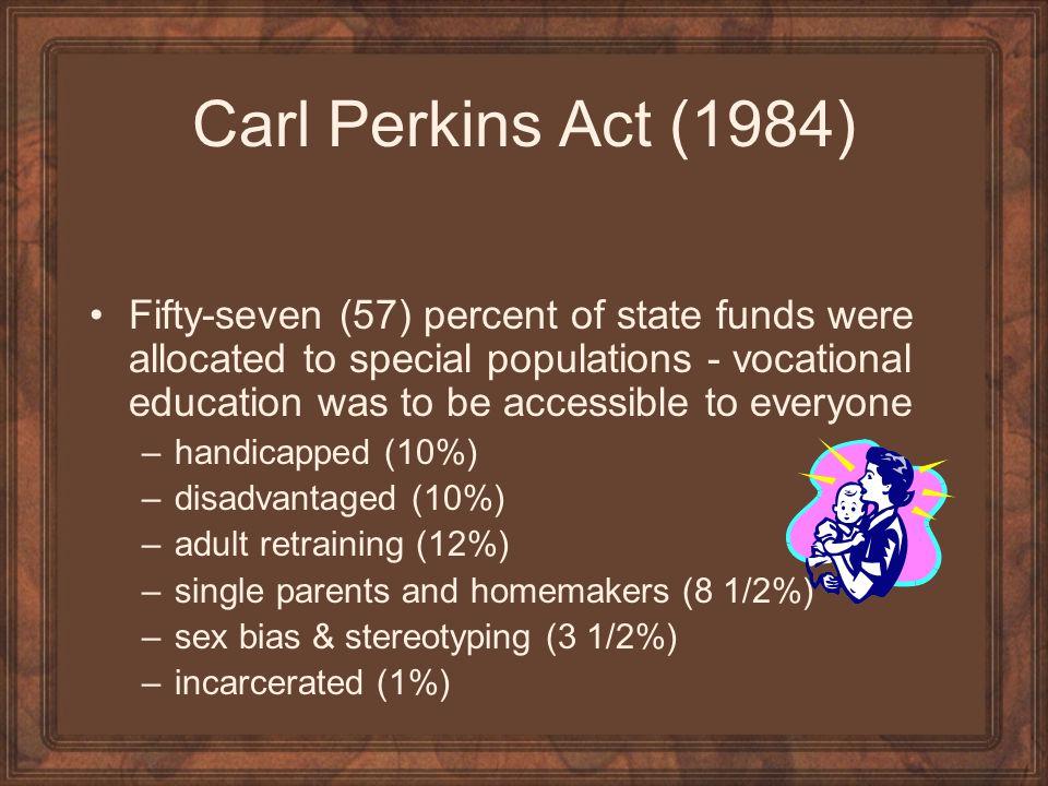 Carl Perkins Act (1984)