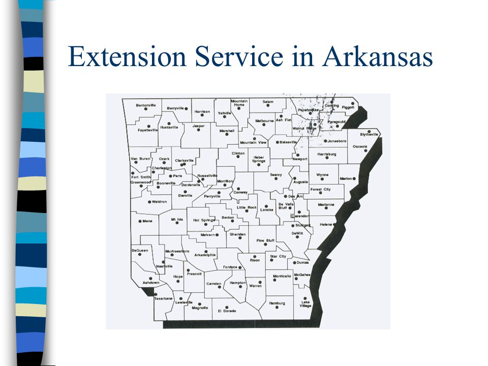 Extension Service in Arkansas