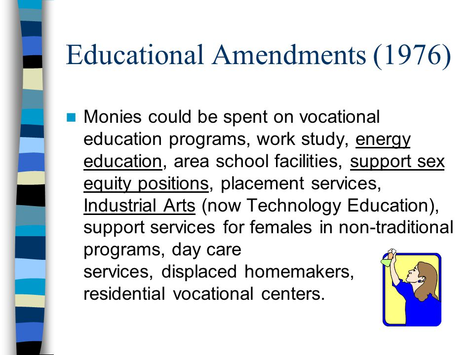 Educational Amendments (1976)