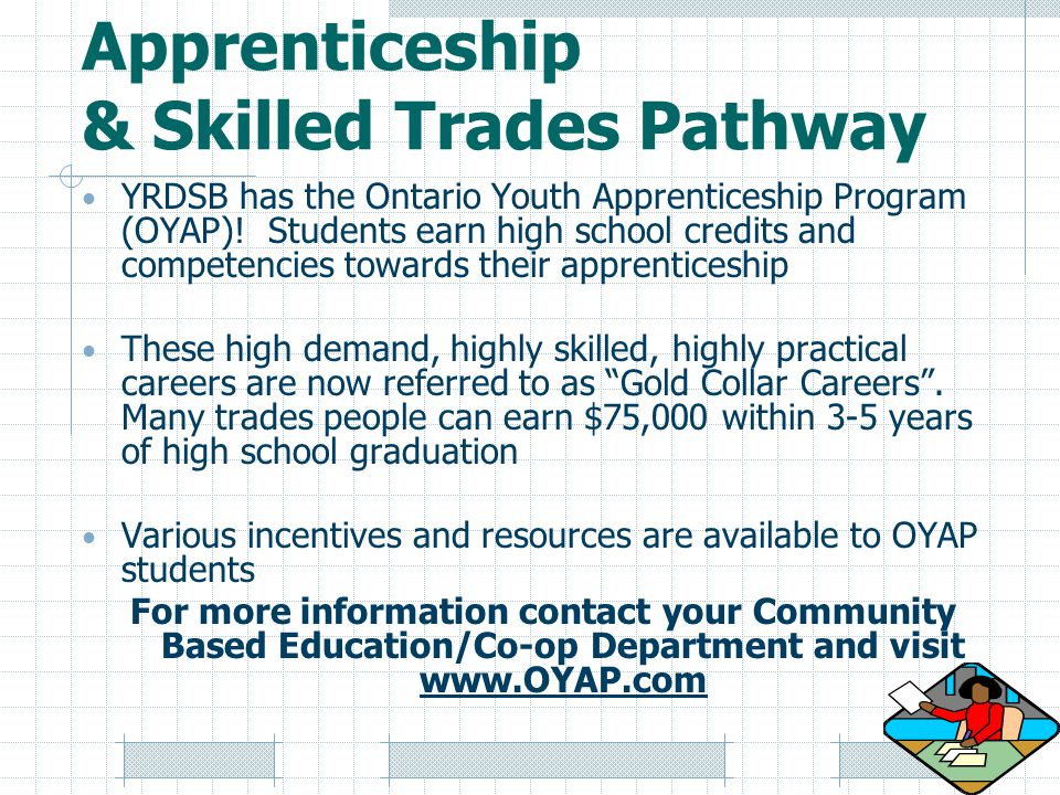 Apprenticeship & Skilled Trades Pathway