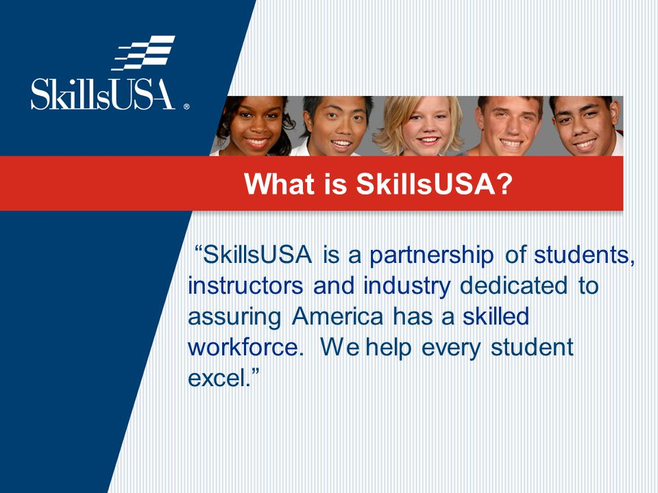 What is SkillsUSA