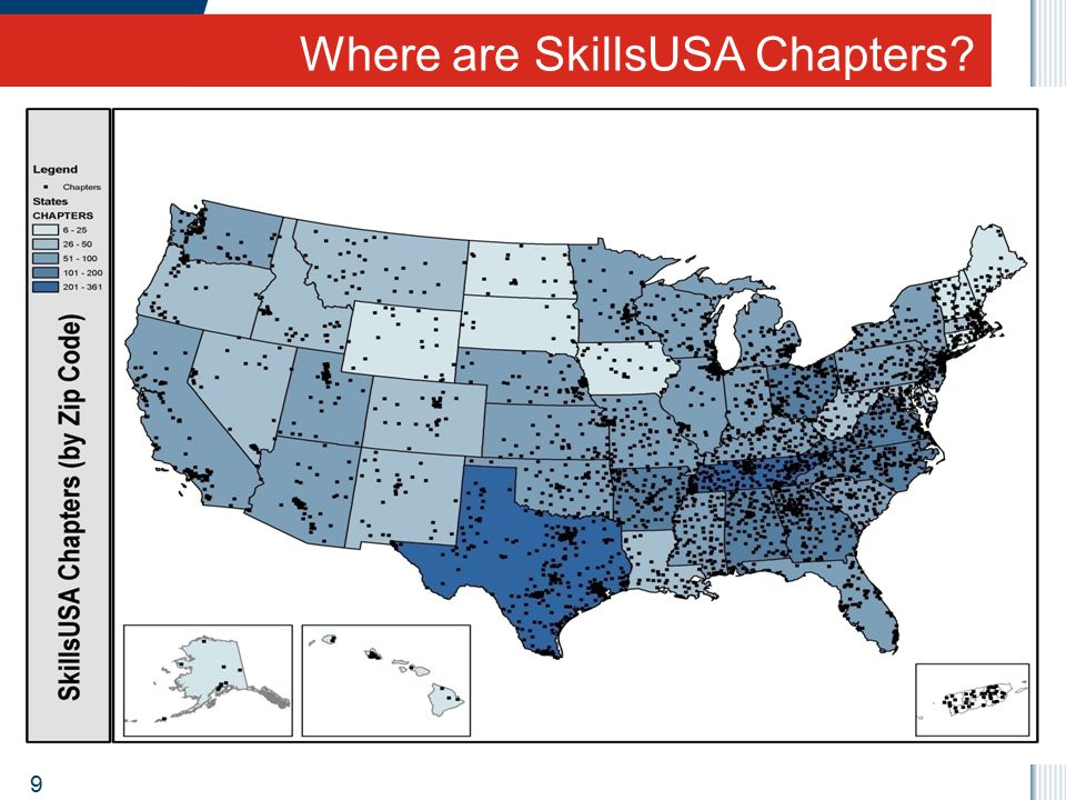 Where are SkillsUSA Chapters