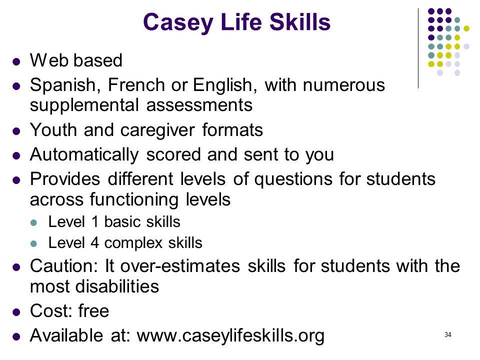 Casey Life Skills Web based