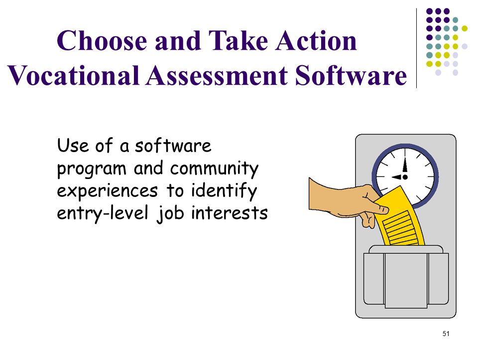 Vocational Assessment Software
