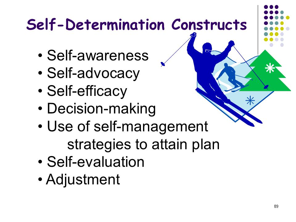 Self-Determination Constructs