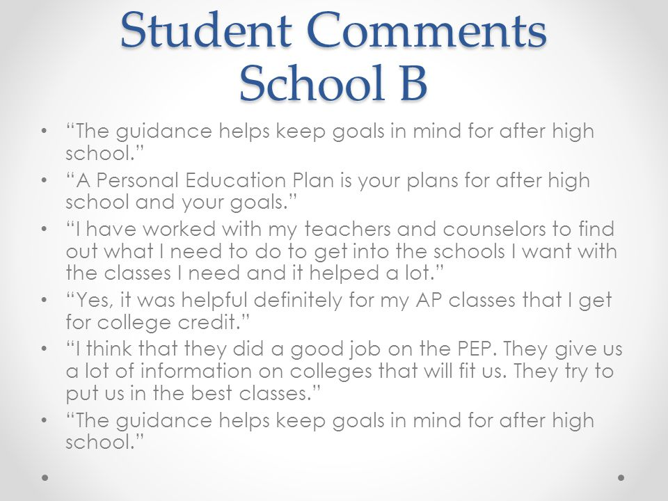 my educational goals after high school Sample question 1: what are your career goals, and how will earning a  my  educational aspirations consist of acquiring a bachelor's degree in any  after i  graduated high school, i became certain that if i wanted to pursue a higher.