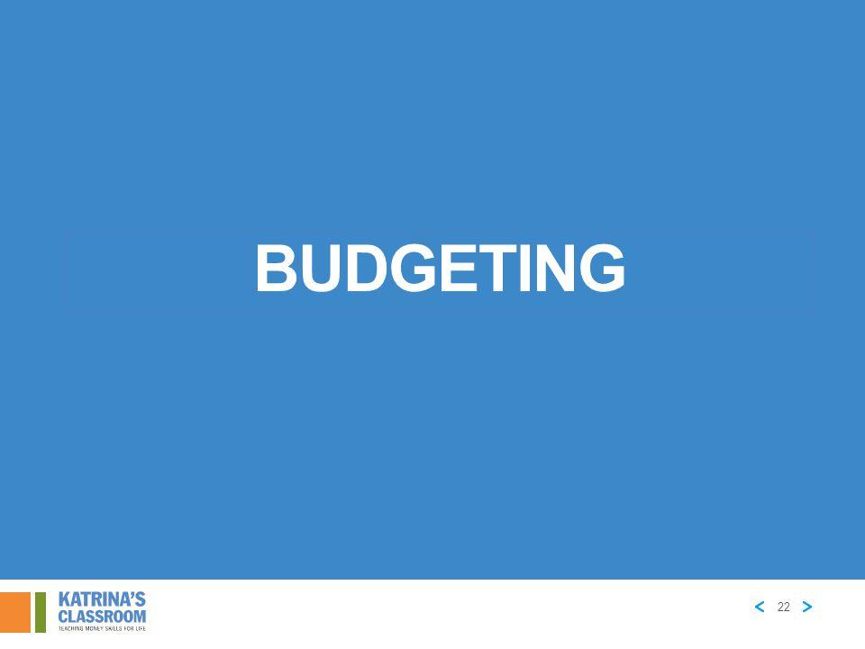 Budgeting 22