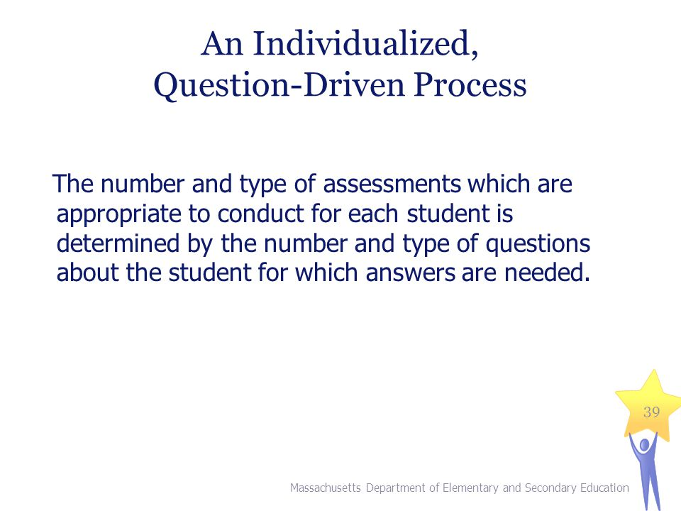 An Individualized, Question-Driven Process