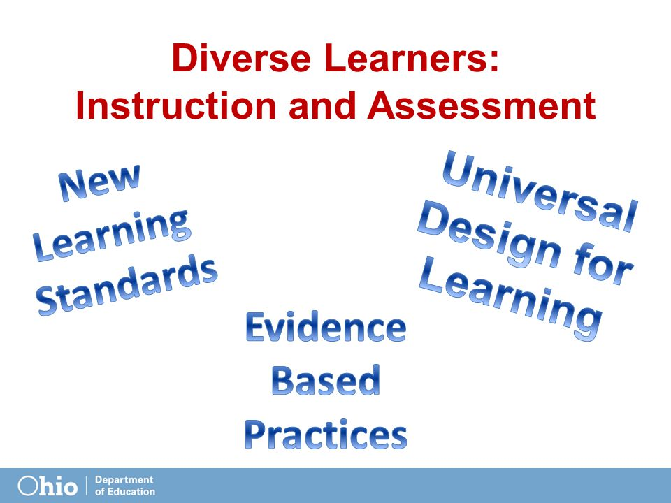 Diverse Learners: Instruction and Assessment