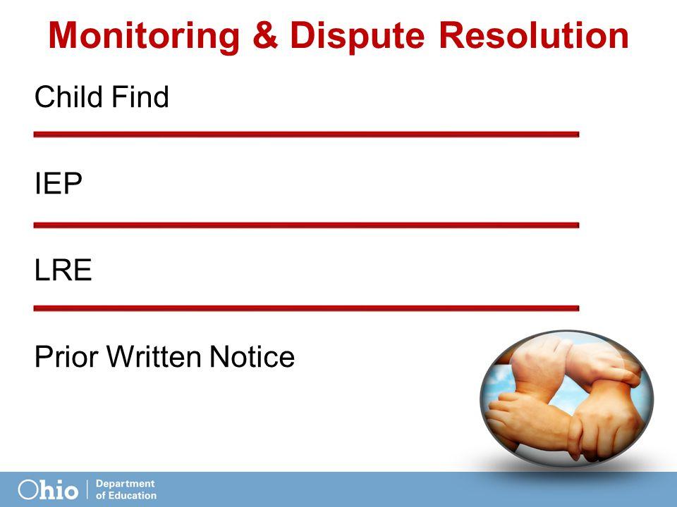 Monitoring & Dispute Resolution