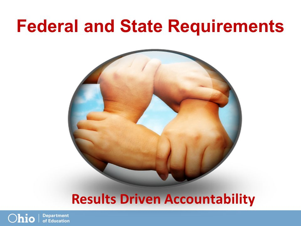 Federal and State Requirements