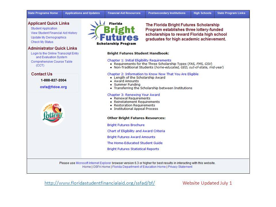 http://www. floridastudentfinancialaid. org/ssfad/bf/
