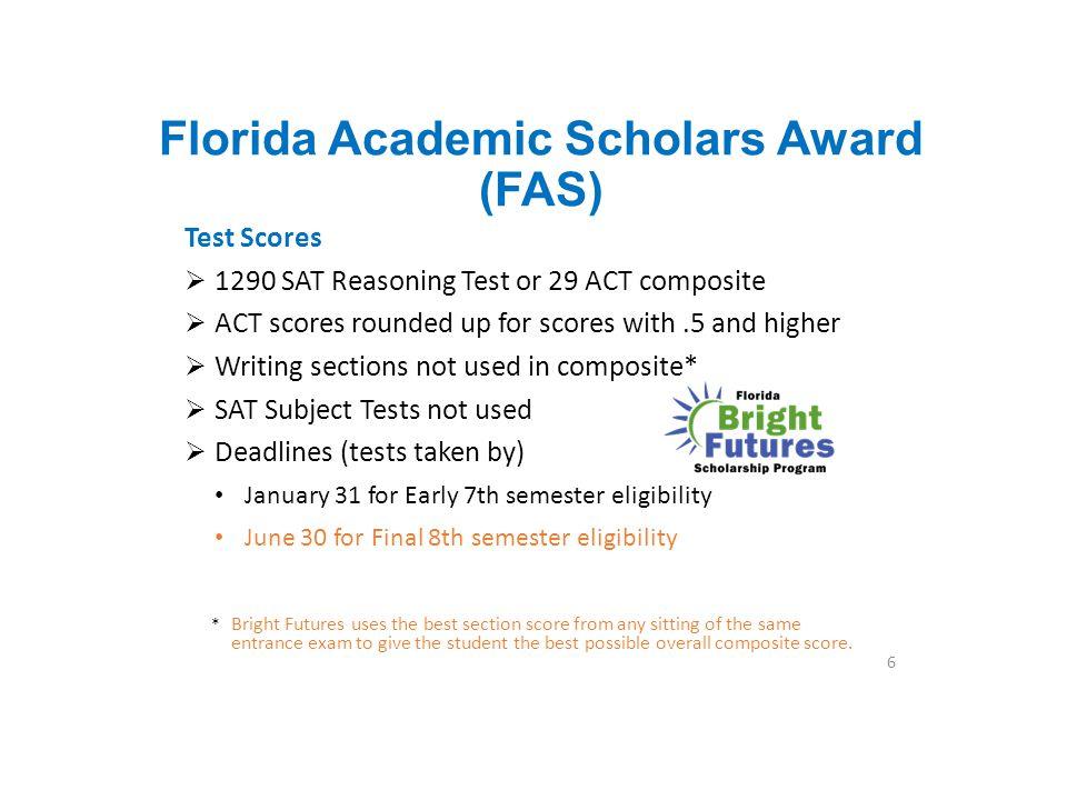 Florida Academic Scholars Award (FAS)