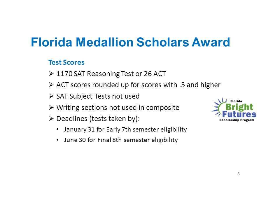 Florida Medallion Scholars Award