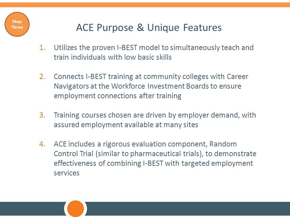 ACE Purpose & Unique Features