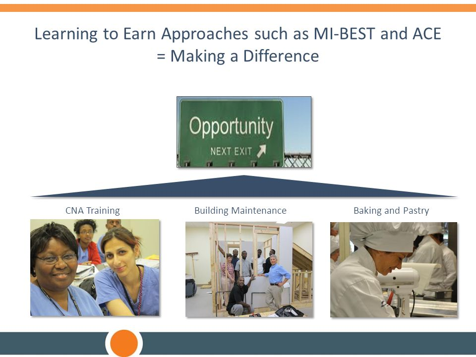 Learning to Earn Approaches such as MI-BEST and ACE = Making a Difference
