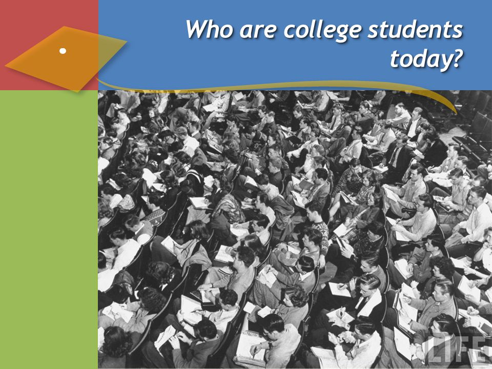 Who are college students today