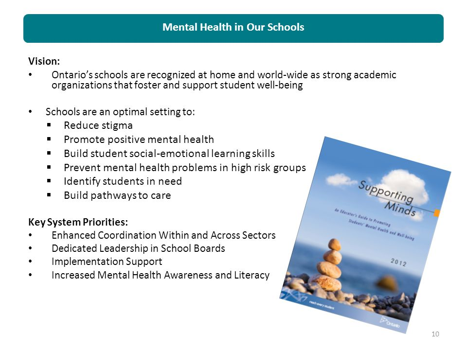Mental Health in Our Schools