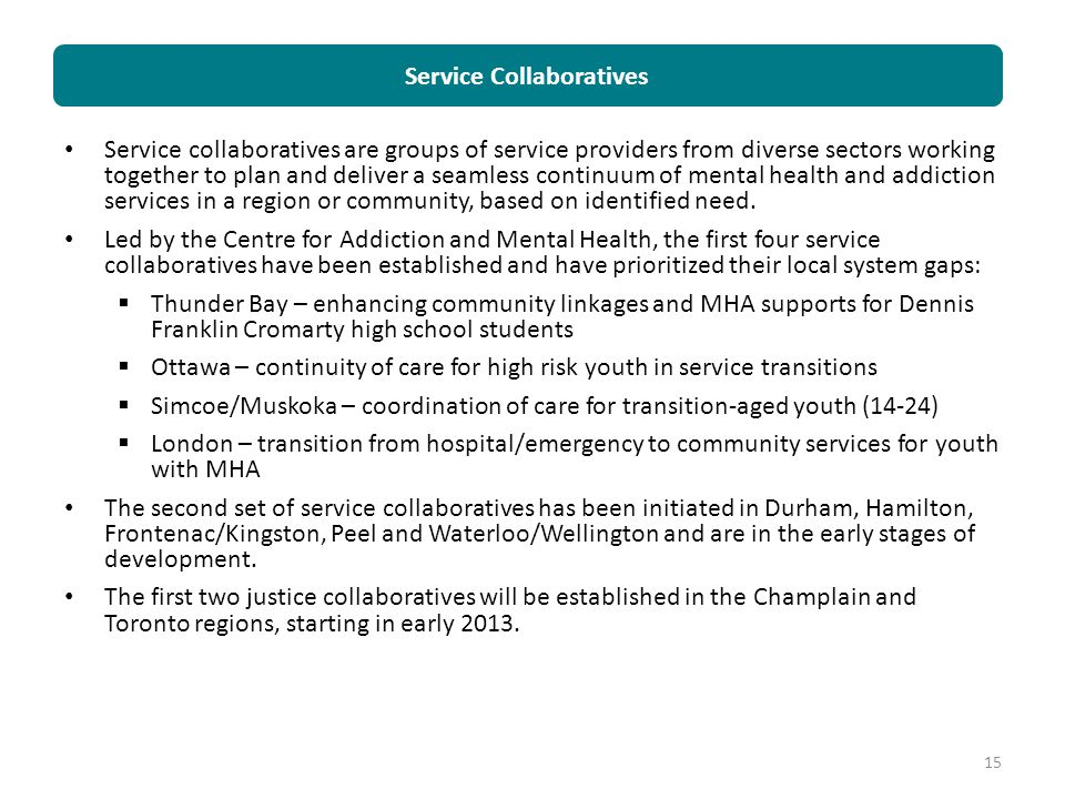 Service Collaboratives