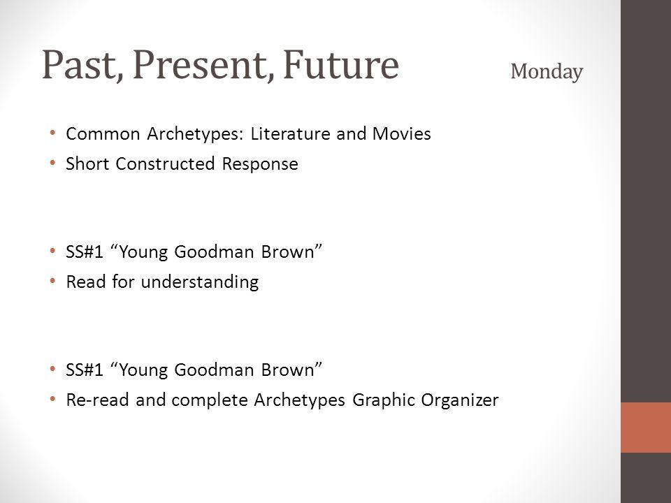 Past, Present, Future Monday