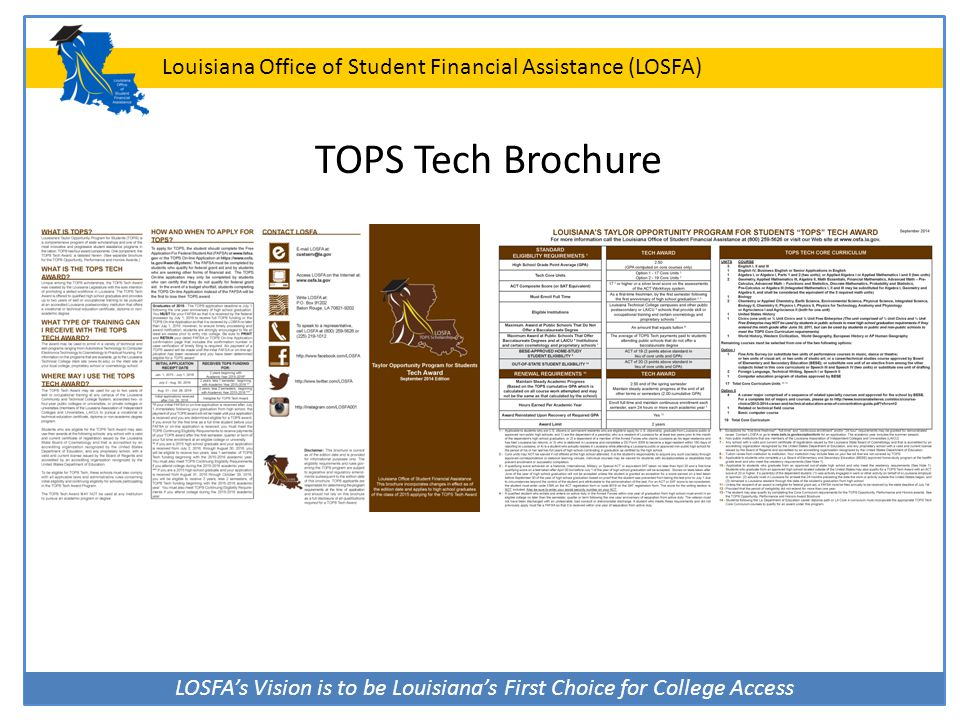TOPS Tech Brochure