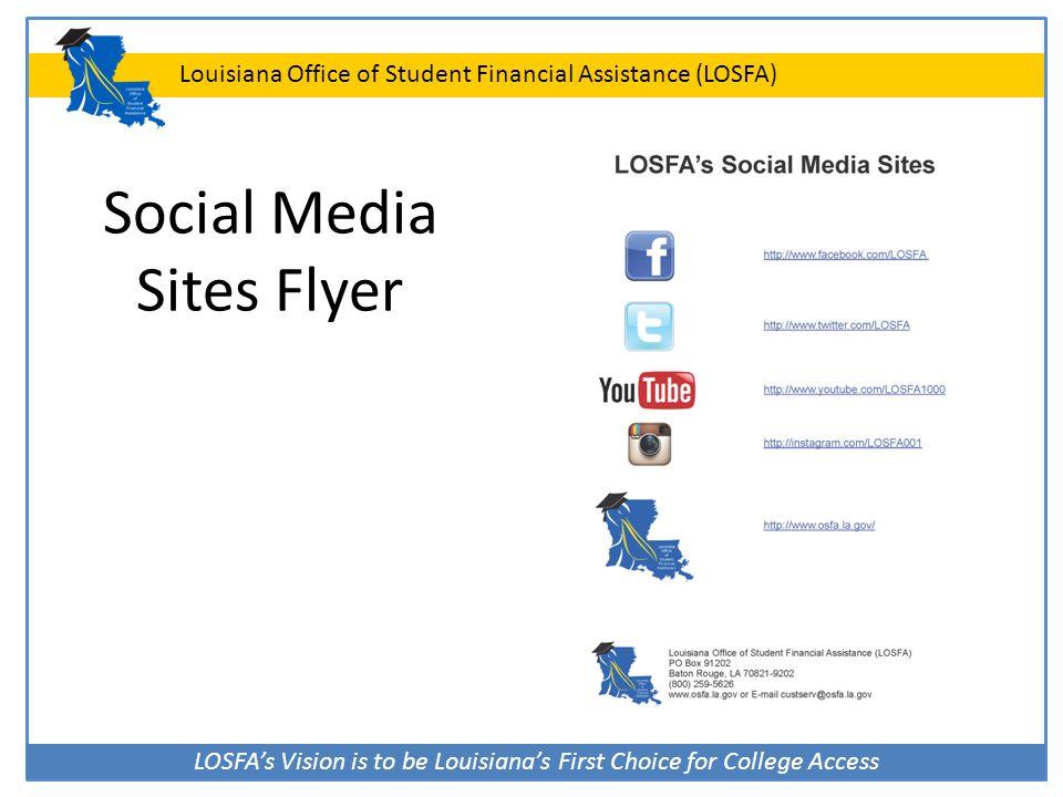 Social Media Sites Flyer