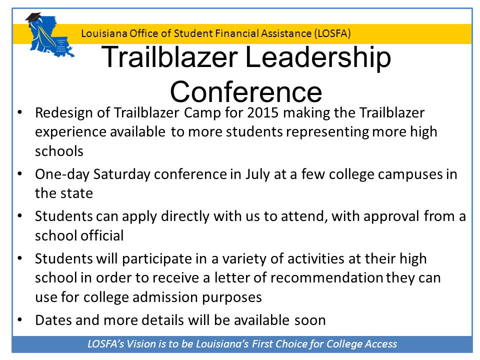 Trailblazer Leadership Conference