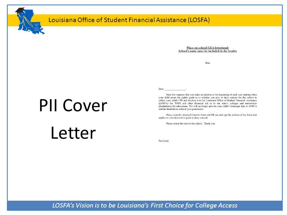 PII Cover Letter