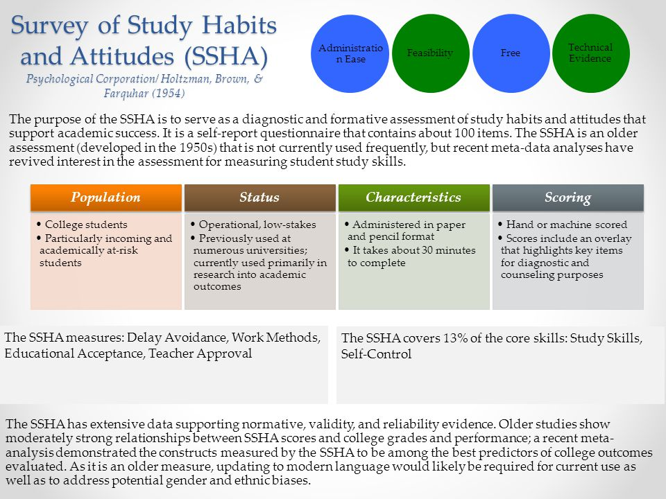 relationship of study habits and academic performance excellence