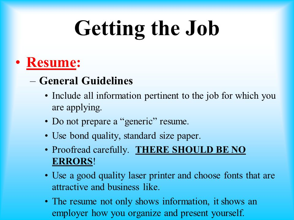 unit 1 employment basics