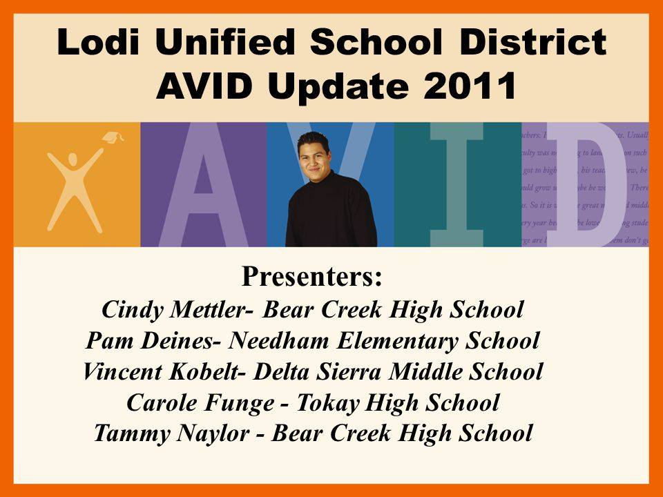 Lodi Unified School District AVID Update 2011