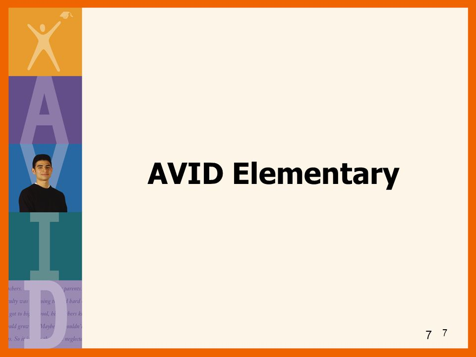 AVID Elementary 7 7