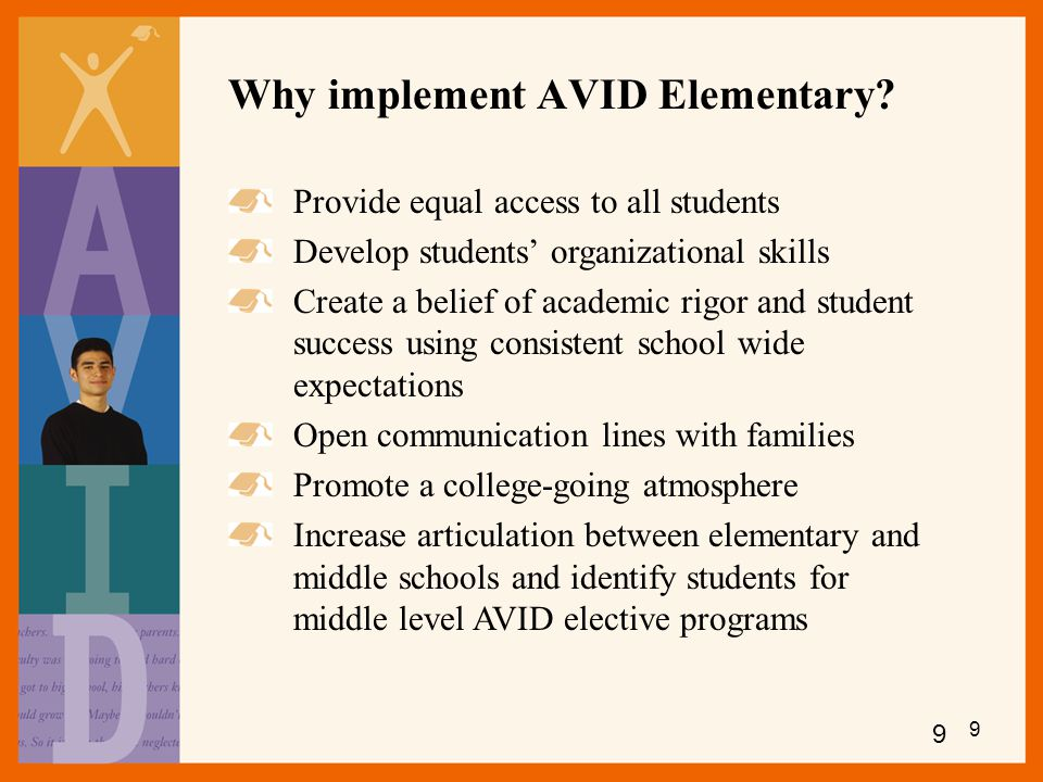 Why implement AVID Elementary