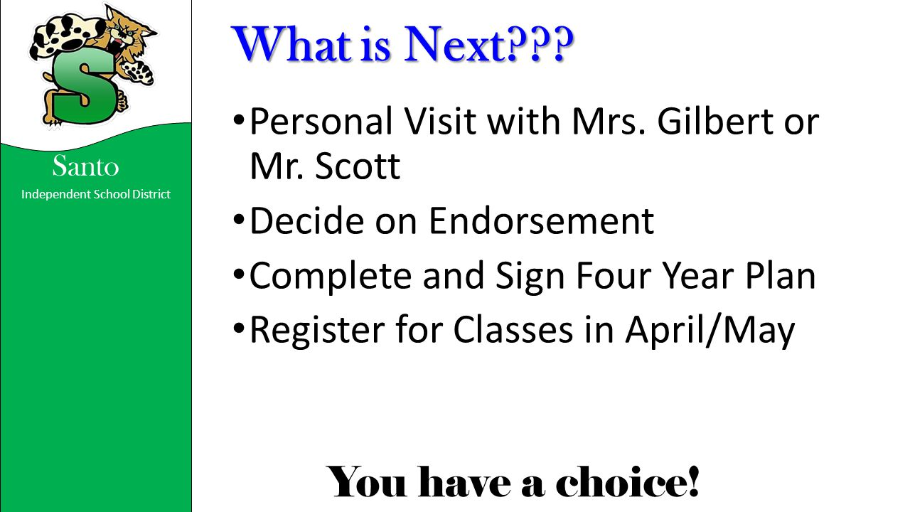 What is Next Personal Visit with Mrs. Gilbert or Mr. Scott