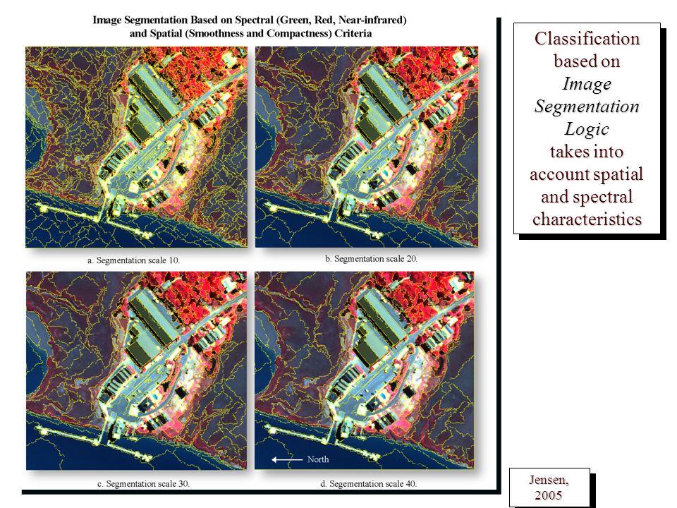 Classification based on Image Segmentation Logic