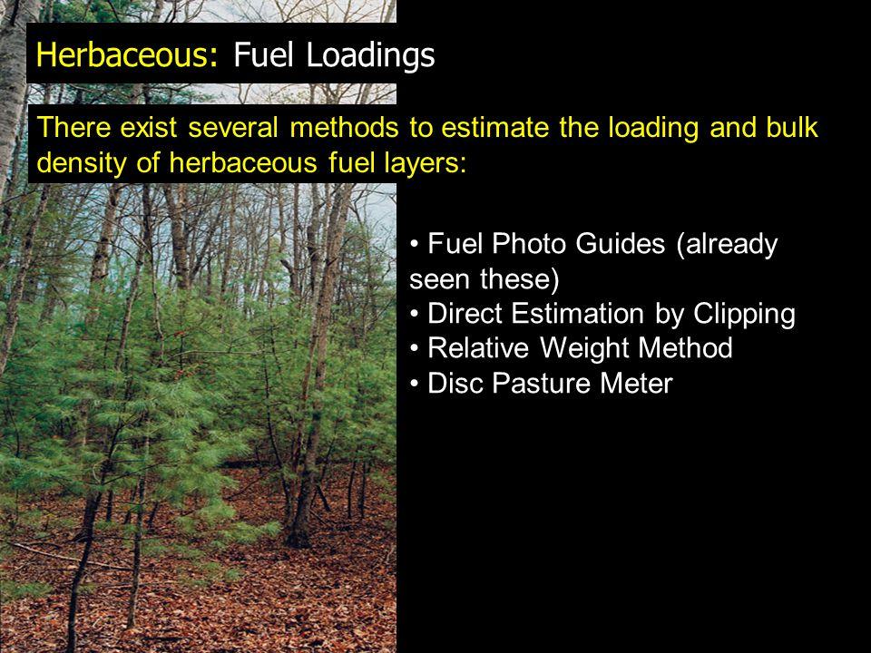 Herbaceous: Fuel Loadings