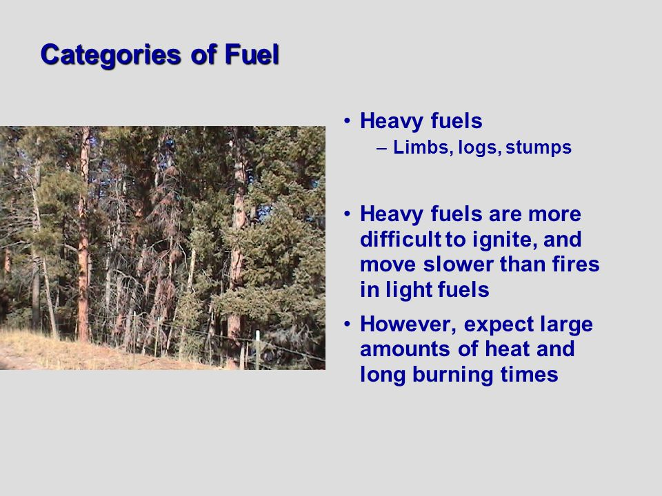 Categories of Fuel Heavy fuels