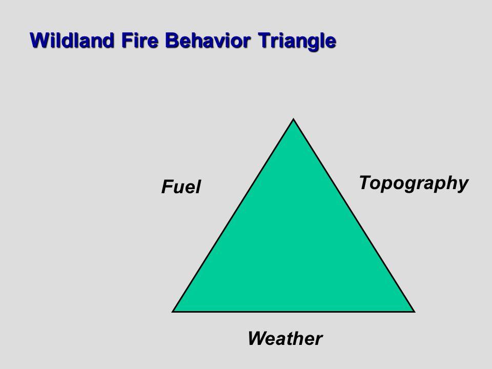 Wildland Fire Behavior Triangle