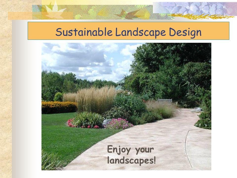 Sustainable Landscape Design