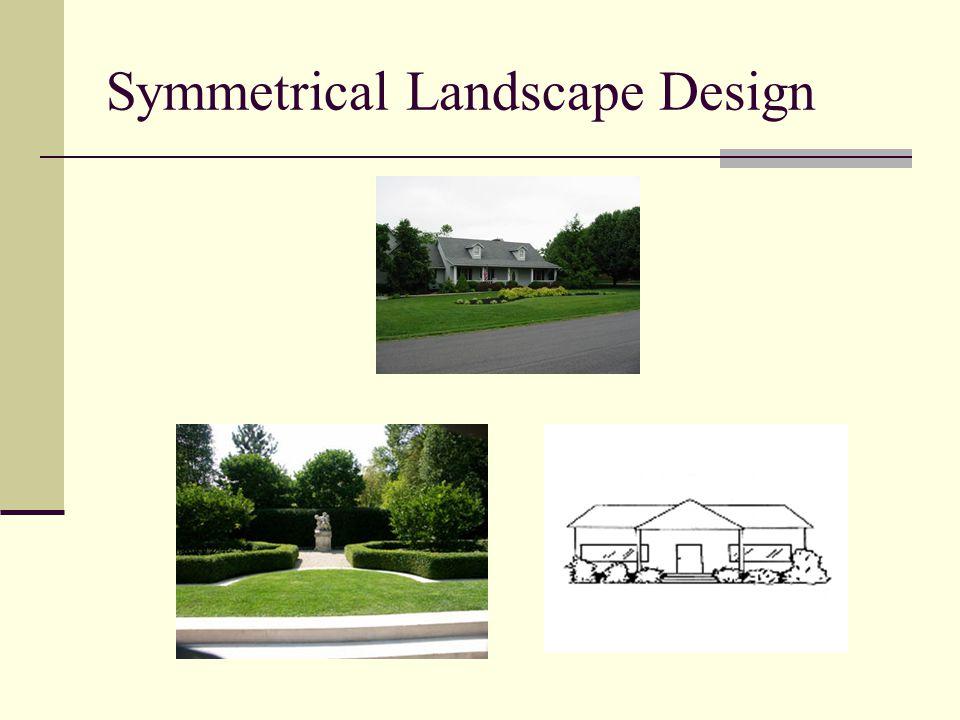 Symmetrical Landscape Design