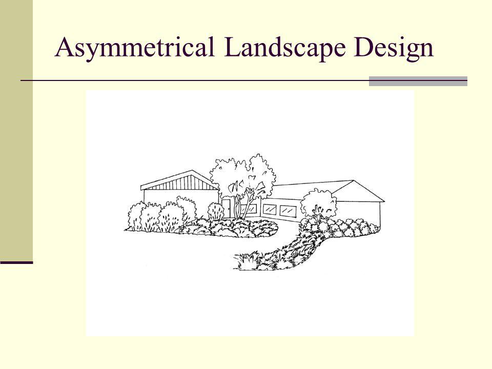 Asymmetrical Landscape Design
