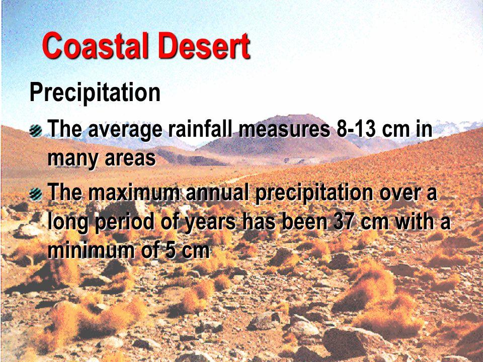 Coastal Desert Precipitation
