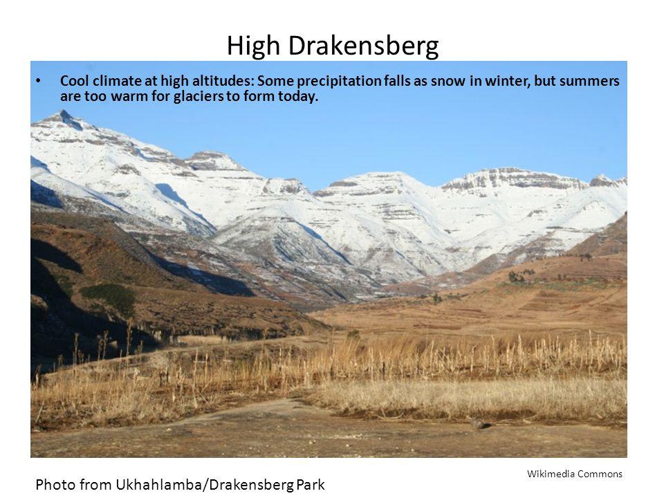 High Drakensberg Photo from Ukhahlamba/Drakensberg Park