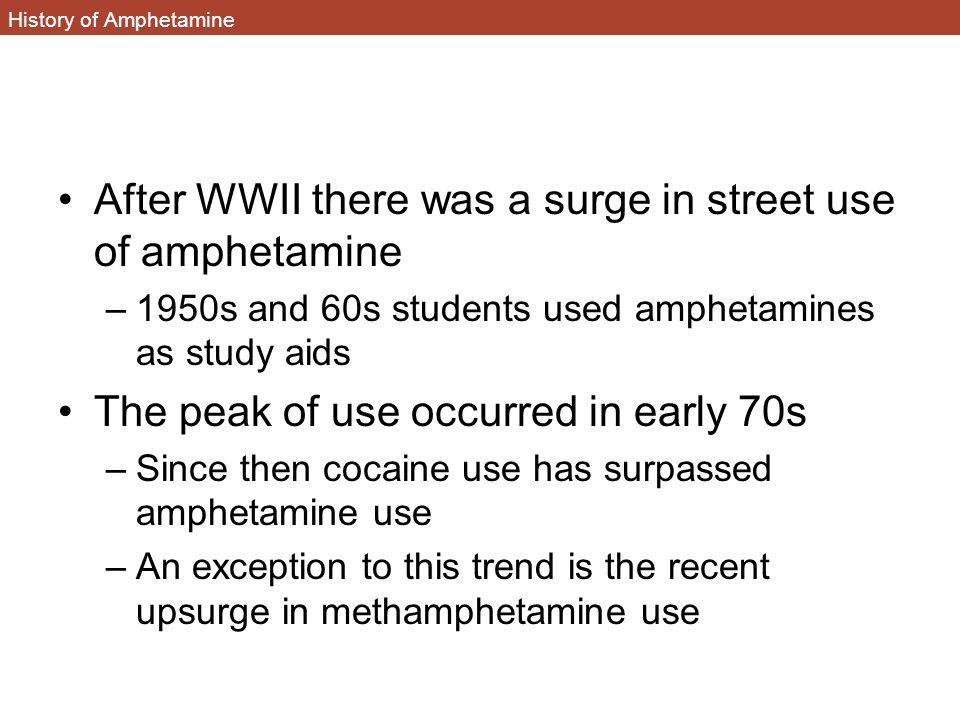 History of Amphetamine