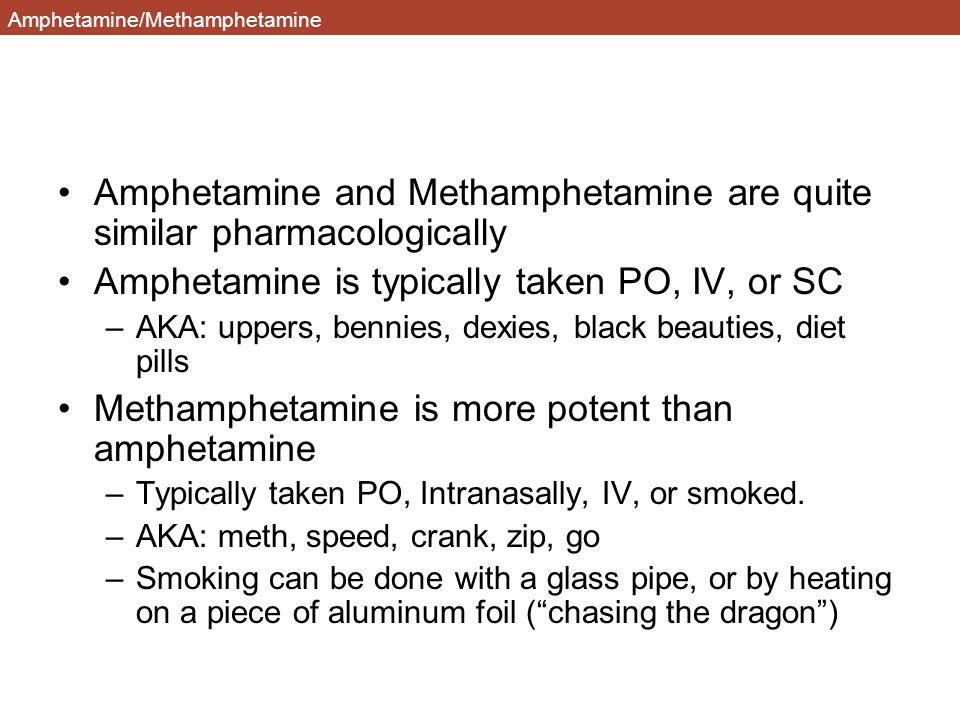 Amphetamine/Methamphetamine