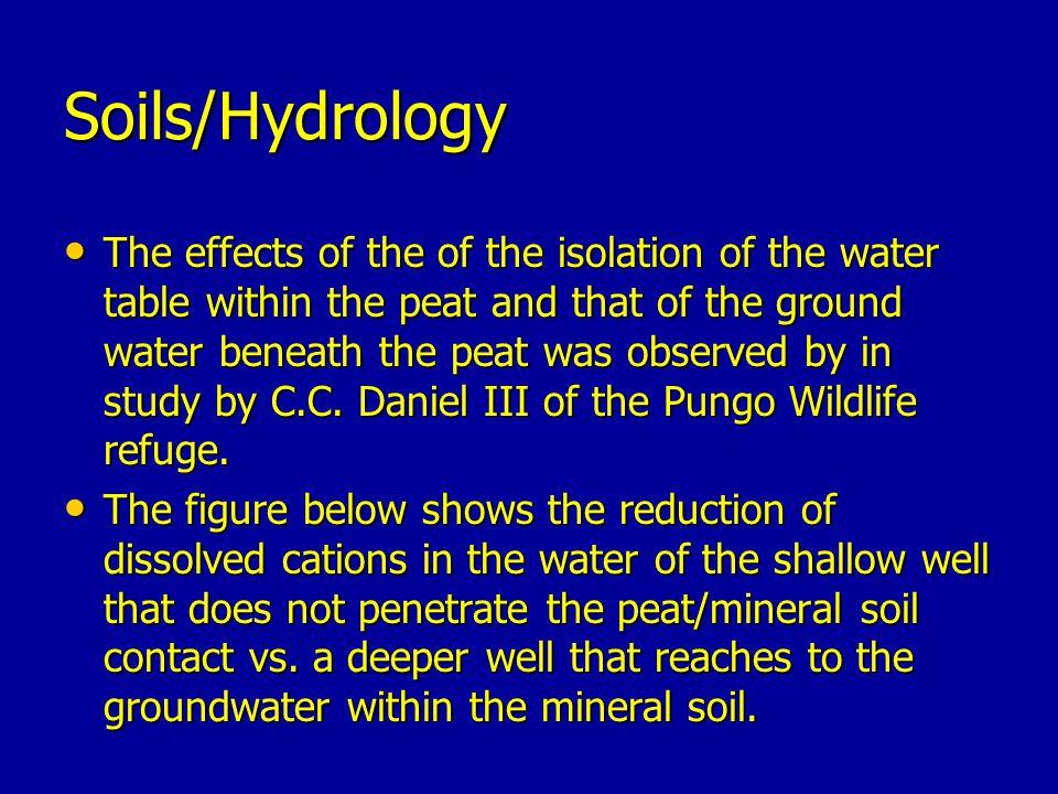 Soils/Hydrology