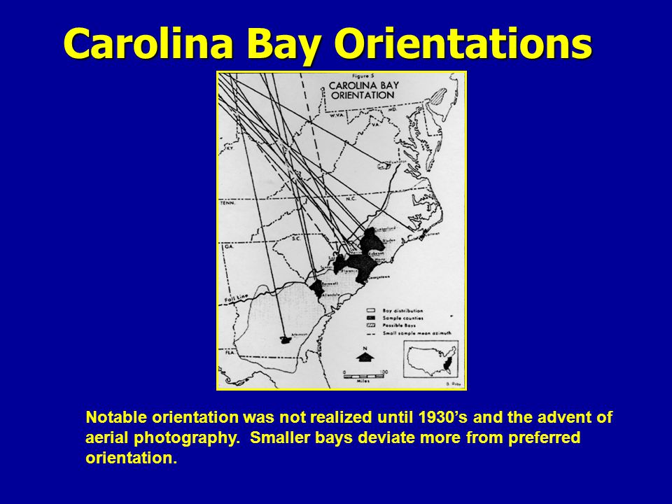 Carolina Bay Orientations