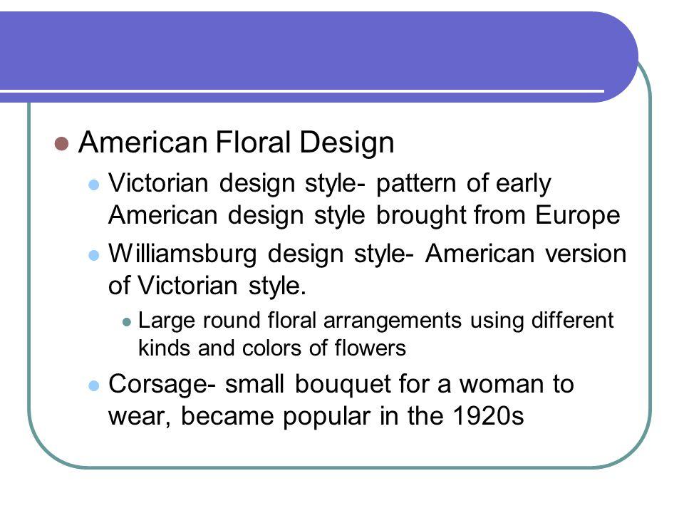 American Floral Design